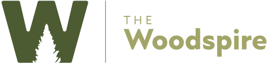 The Woodspire Logo